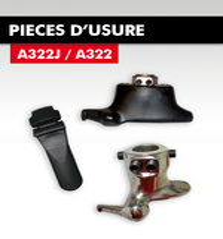 PIECES D'USURE POUR A322J/A322/A322-2V
