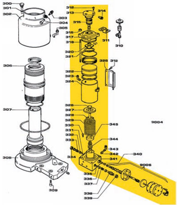 moteur a piston machine pneu