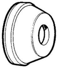CALOTTE DIAM. 38MM (ROUE 4X4 ALU)