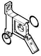 ELEMENT DE JONCTION (FIXATION MURALE)