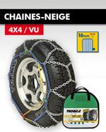 CHAINES-NEIGE 4X4 / VU