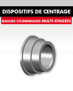 DISPOSITIFS DE CENTRAGE / BAGUES ETAGEES