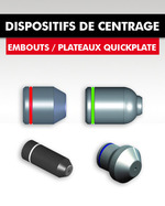 DISPOSITIFS DE CENTRAGE / EMBOUTS
