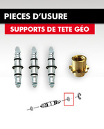 PIECES D'USURE SUPPORTS DE TETE